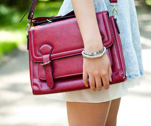 fashion, bag, and girl image