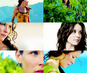 actress, evangeline lilly, and hair image