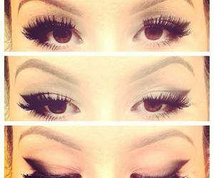 make up and eyes image