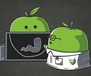 apple, funny, and doctor image