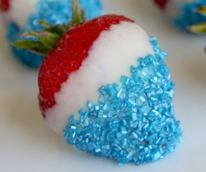 blue, fourth of july, and yummy image