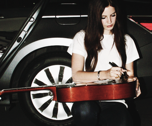 lana del rey, guitar, and music image