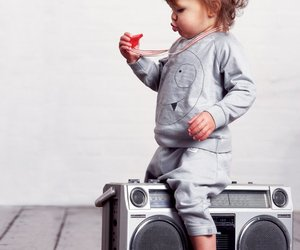 baby, music, and cute image