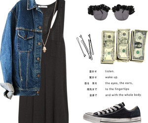 look, converse, and fashion image