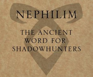 nephilim, the mortal instruments, and tmi image