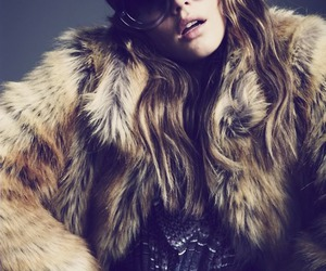 sunglasses and fur image