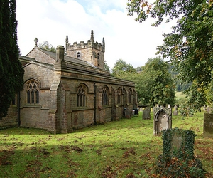 church, derbyshire, and england image