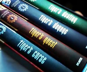 book, book collection, and tiger's quest image