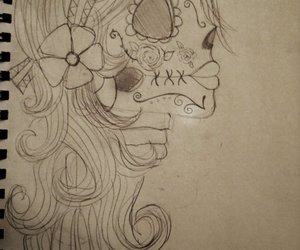 day of the dead, flowers, and gypsies image
