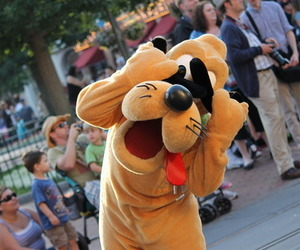 disney, photography, and pluto image