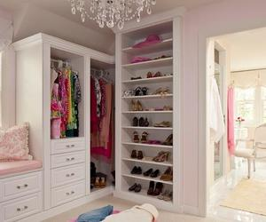 closet, room, and shoes image