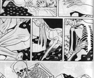 bones, couple, and kiss image