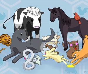 anime, kawaii, and zodiac image
