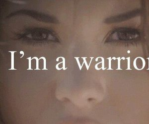 warrior, demi lovato, and demi image