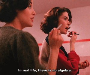 algebra, quotes, and Twin Peaks image