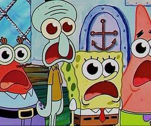 spongebob, patrick, and sponge bob image