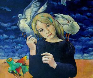 art, painting, and myrtille henrion-picco image