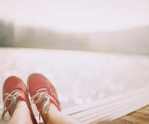 shoes, photography, and red image