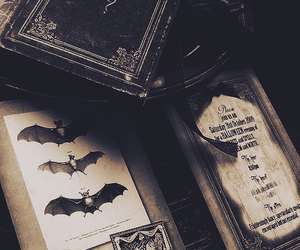 book, Halloween, and dark image