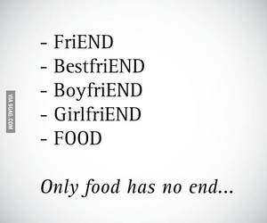 food, forever, and quotes image