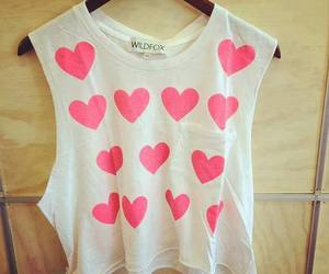 fashion, pink, and heart image