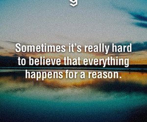 quote, hard, and reason image