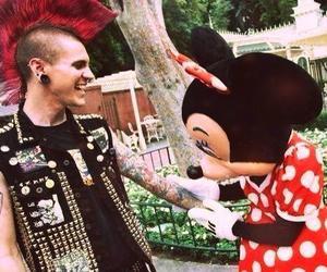 punk, disney, and tattoo image