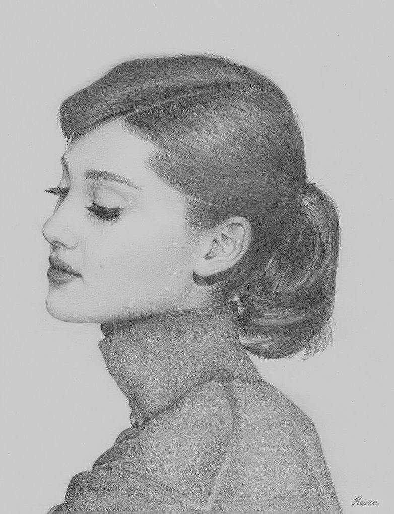 Ariana grande as audrey hepburn how cool on we heart it