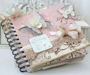 diary, girly, and journal image