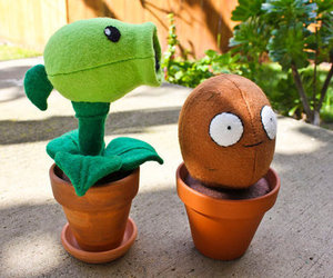 plants vs zombies, plants, and cute image
