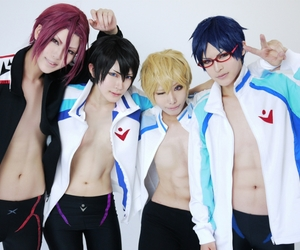 cosplay, free!, and anime image