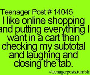 funny, online shopping, and post image