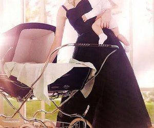baby, carriage, and classic image