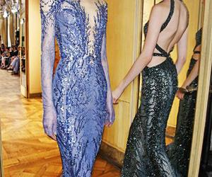 backstage, winter, and Zuhair Murad image