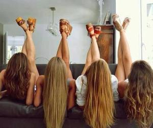 bff, friends, and blond image