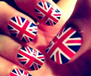 nails, england, and blue image