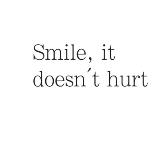 smile words • quotes • sayings on we heart it