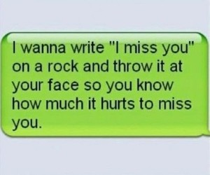 hurt, miss you, and text image