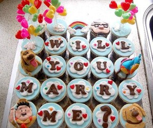 cupcake, up, and marry image