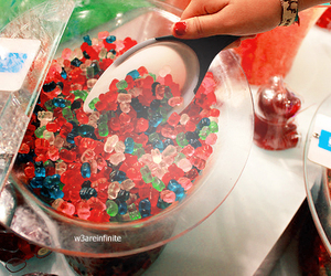candy, sweet, and food image