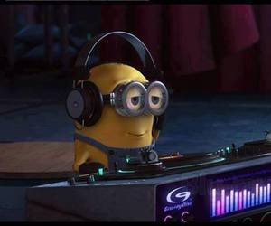 minions, dj, and pretty image