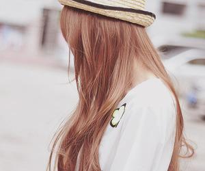 girl, kfashion, and hair image
