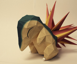 origami, cute, and pokemon image