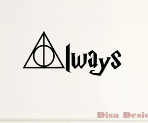 always, six, and harry potter image