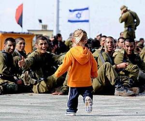 love, israel, and army image