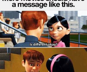 different, disney, and quote image