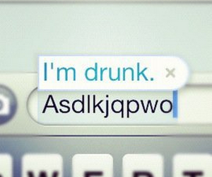 drunk, funny, and text image
