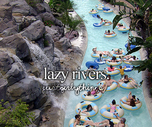Lazy, quote, and river image