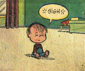 sigh, cartoon, and charlie brown image