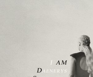 Queen, daenerys, and gameofthrones image
